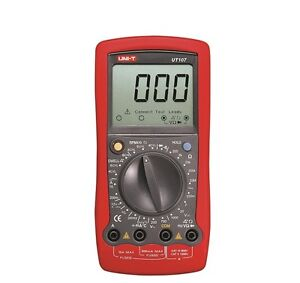 Professional Uni t Ut107 Digital Automotive Tester Voltage Temp Multimeter