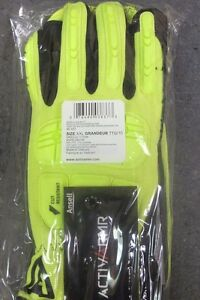 2 Ansell Size Xxl Rescue Gloves 46 551 Style b4