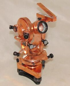 Renovated Tt5 Th 40 Theodolite Wooden Box Ussr Plant 217