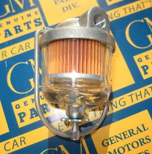 1949 1962 Buick Cadillac Chevrolet Oldsmobile Carb Fuel Filter Assembly Ac Gf 48