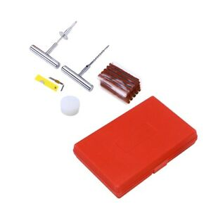 56 In 1 Durable Convenient Heavy Duty Motorcycle Car Tire Patching Repairing Kit