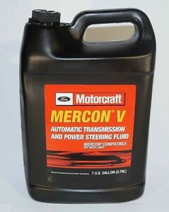 New Oem 1 Gallon Ford Motorcraft Xt 5 Gm Mercon V Transmission Fluid