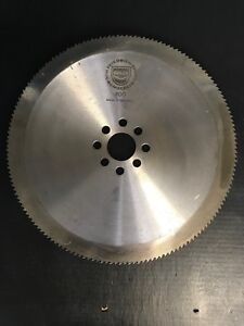 New Ohler 16 X 160 Tooth Segmental Cold Saw Blade 50mm Bore 8 Pinholes M2 Steel