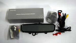 Autovox Rvs T1400w Lcd Wireless Car Rear View Mirror Monitor For Backup Reverse