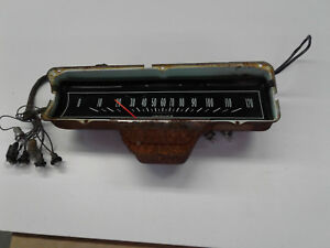 1965 Impala Dash Gauge Cluster And Wiring Harness