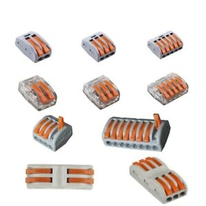 Universal Compact Wiring Cable Connector Phosphor Copper Wire Terminal Block