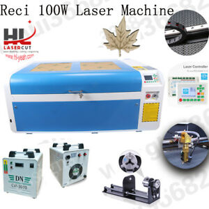 100w Co2 Usb Laser Cutting Machine With Dsp System Auto Focus Linear Guides