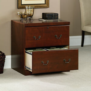 Sauder 102702 Heritage Hill Lateral File Cabinet In Classic Cherry Finish New