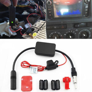 12v Car Auto Truck Stereo Antenna Fm Radio Inline Signal Amp Amplifier Booster