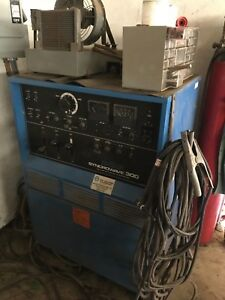 Miller Syncrowave 300 Welder With Extras