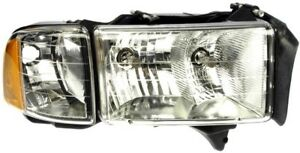 Right Head Lamp Assembly 1590467 Fits Dodge Ram 1500 2001 99 Fits Dodge Ram
