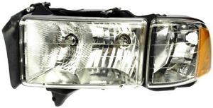 Left Head Lamp Assembly 1590468 Fits Dodge Ram 1500 2001 99 Fits Dodge Ram