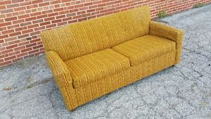 Mid Century Modern Retro Couch Sleeper Sofa Kroehler Citation Excellent