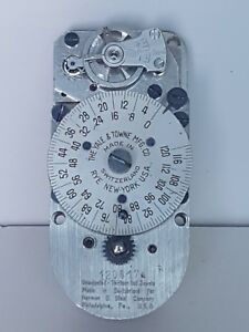 Yale Towne 120hr Timelock Movement With Brand New Tmi Escapement Ser 120817