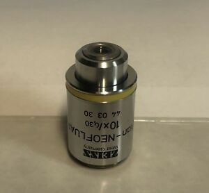 Zeiss Plan neofluar 10x 0 30 Microscope Objective 440330