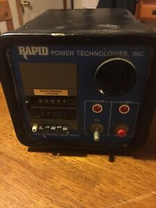 Rapid Power Technologies Digital Ampere Hour Meter See Description