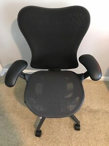 Herman Miller Mirra 2 Chair Graphite Already Assembly