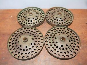 Vintage Cast Iron Wheels Hit Miss Stationary Engine Industrial Cart John Deere