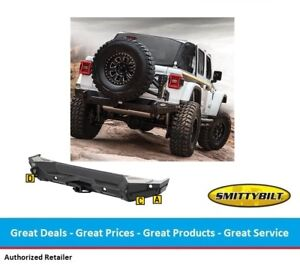 Smittybilt Gen2 Xrc Rear Bumper For 2018 And Up Jeep Jl Wrangler