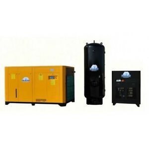 125 Hp 3 Ph Rotary Air Compressor Pkg By Eaton No China Parts 10 Yr Warranty