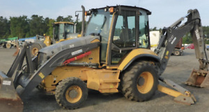 2013 Volvo Bl60b 4x4 Loader Backhoe Extendahoe Enclosed Cab Ac