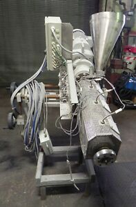 Greiner Gce 30 f Co extruder Plastics Processing Machine 30mm 1 1811 Screw