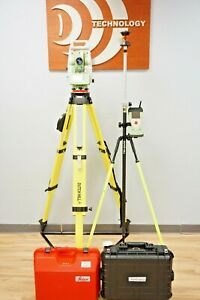 Leica Tcrp1201 R300 1 Sec Robotic Total Station Reflectorless Dual Display 1201