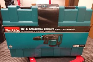 Brand New Makita Hm1203c 20 pound Sds Max Demolition Hammer Tool Only