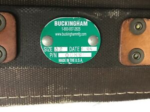 combo Buckingham Size 32 Lineman Climbing Belt Plus 6ft Safety Strap