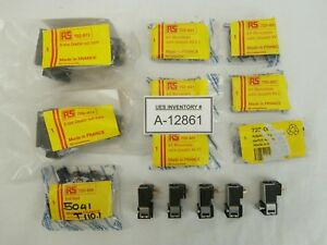 Crouzet Pneumatic Components Lot Of 14 722 851 81519 722 873 722 889 723 006 New