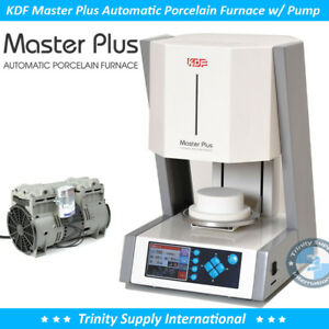 Kdf Master Plus Automatic Porcelain Furnace Oven Free Pump Dental Lab