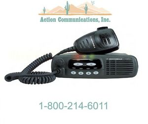 New Motorola Cdm750 Vhf 136 174 Mhz 25 Watt 4 Channel Two Way Radio