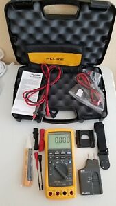 Great Fluke 789 Process Meter With Leads storage Case And More