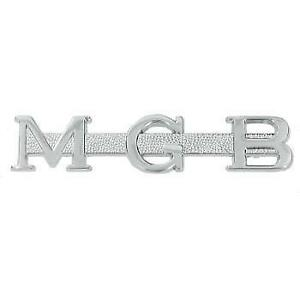New Mg Trunk Badge Emblem For Mgb 1963 1976 Metal Ahh6079 Mgb
