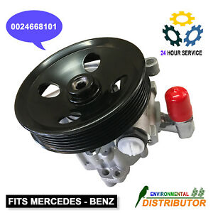 Power Steering Pump W Pulley Assembly For Mercedes Benz W163 Ml320 350 430 550