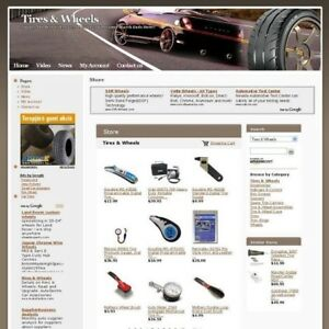 Established Online Tires And Wheels Business Website For Sale Free Domain Name