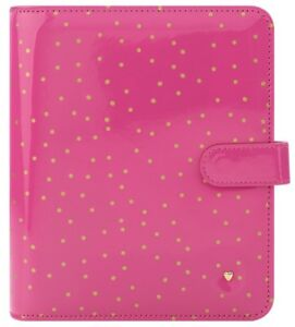 Franklin Covey Classic Binder Pink Confetti