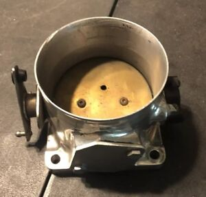 Used Accufab 90mm Mustang 5 0l Polished Throttle Body 302 Lx Gt