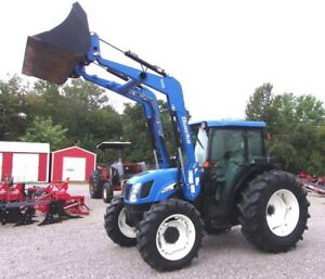 New Holland Tn 70 Da With Loader 4x4 delivery 1 85 Per Loaded Mile