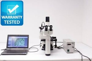 Leica Dm Il Inverted Fluorescence Phase Contrast Microscope Dmil