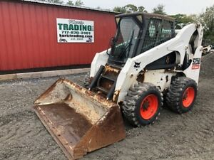 2007 Bobcat S250 Skid Steer Loader W Cab