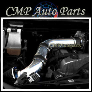 Black Air Intake Kit Fit 2007 2012 Gmc Canyon Chevy Colorado Hummer H3 3 7l