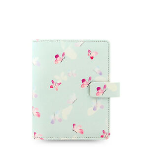 Students Girls Filofax Pocket Size Butterflies Organiser Planner Notebook Diary