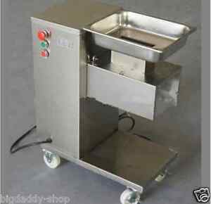 Removable Slicing Cutting Meat Machine 500kg hour 1 Cutting Blade S