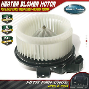 Hvac Ac Blower Motor Heater For Toyota Camry 4runner Dodge Journey 700215 Front