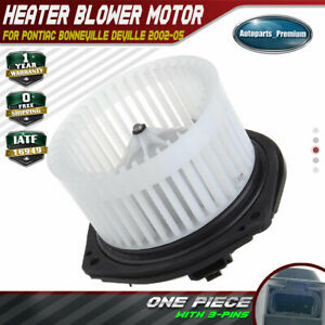 Hvac Ac Heater Blower Motor W Fan Cage For Cadillac Deville Seville Pontiac