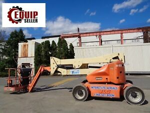 Jlg E450aj 4x4 Electric Articulated Boom Man Aerial Scissor Lift 45ft Height