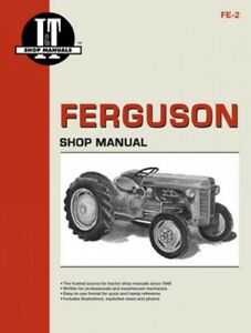 I t Shop Manual Massey Ferguson Te20 To20 To30