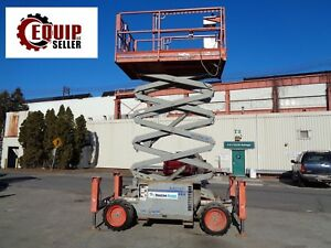 2011 Skyjack Sj6832rt 4x4 Scissor Man Aerial Boom Lift 32 Ft Height