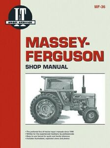 I t Shop Manual Massey Ferguson Mf285